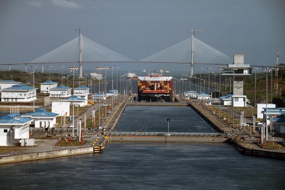 Panama Canal, Crossing, Artificial, Conduit, Maritime