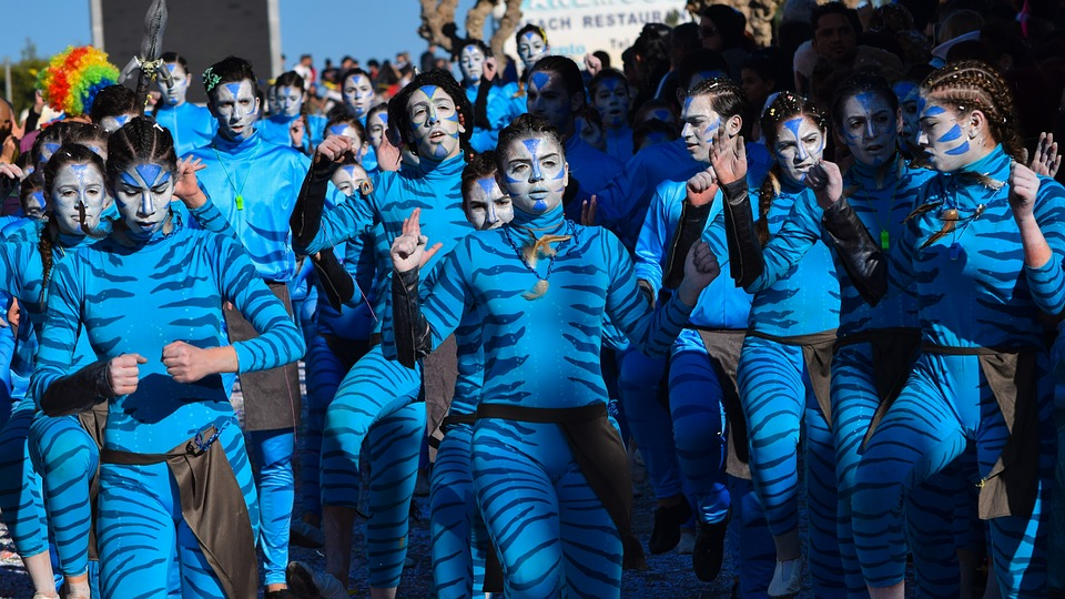 Carnival, Costume, Performance, People, Group, Crowd