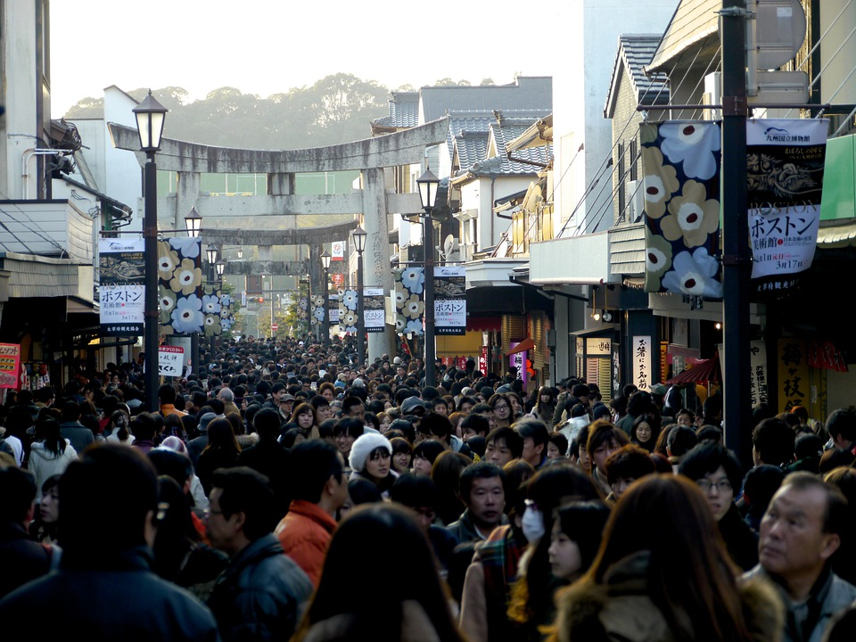 Omotesando, Dazaifu, Store Openings, Crowd