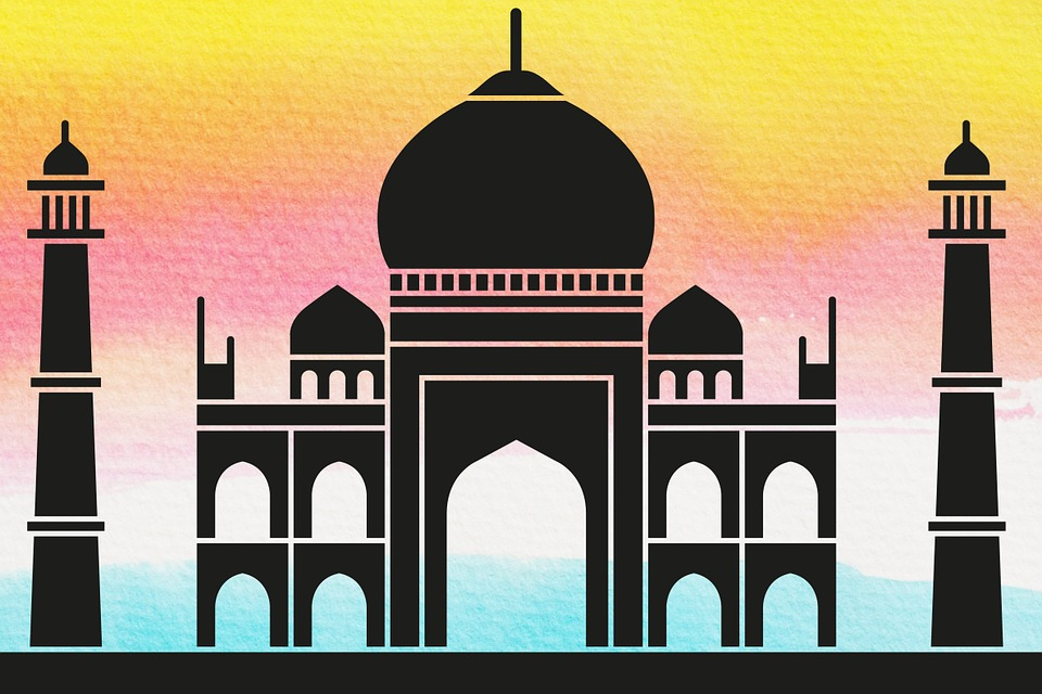 Taj Mahal, Crown Of The Place, Crown Palace, Mausoleum