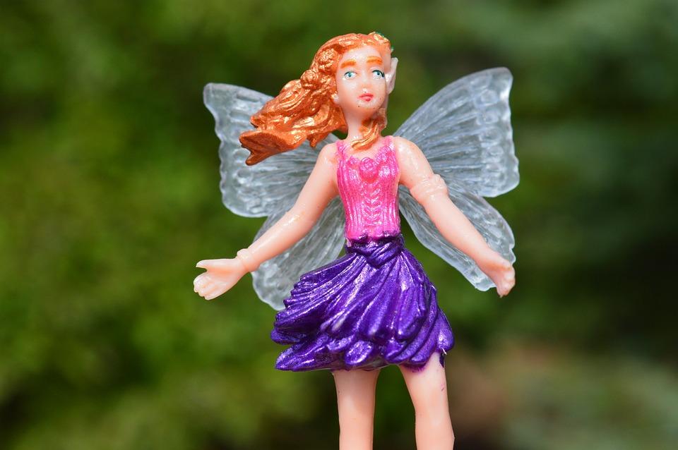 Fairy, Princess, Fantasy, Female, Crown, Pink, Woman