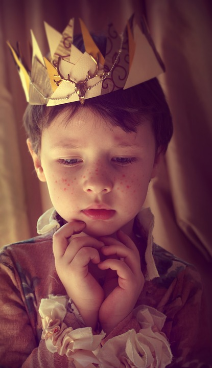 Prince, Boy, Kids, Magic, Crown, A Cute Baby, Story