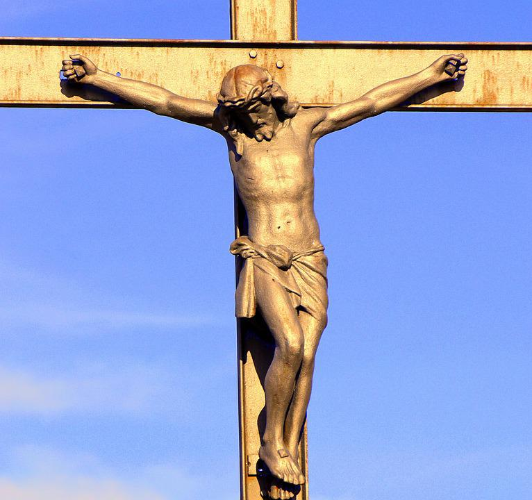 Christ, Crucified, Iron, Image, Easter, Death