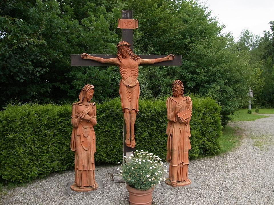 Marienfried, Crucifixion, Jesus, Christ, Believe, Cross