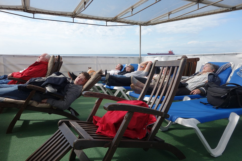 Ship Deck, Cruise, Deck Chair, Deck, Ship, Sleep, Sea