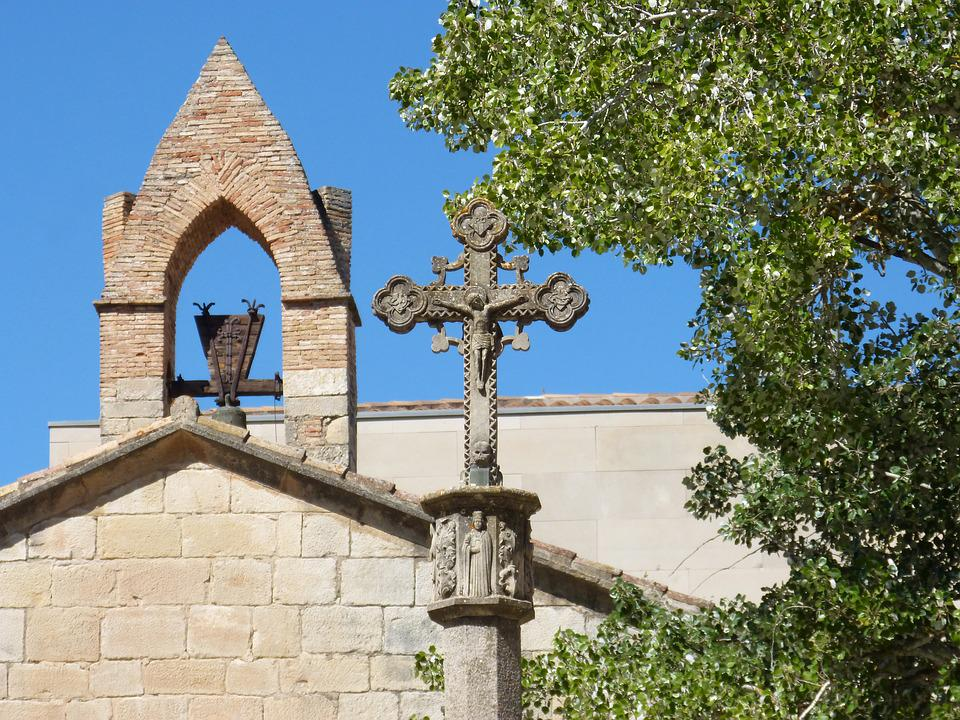 Cruise, Gothic, Monastery, Belfry, Poblet, Catalunya