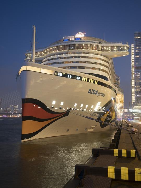 Rotterdam, Holland, Cruise Ship, Aida, Netherlands