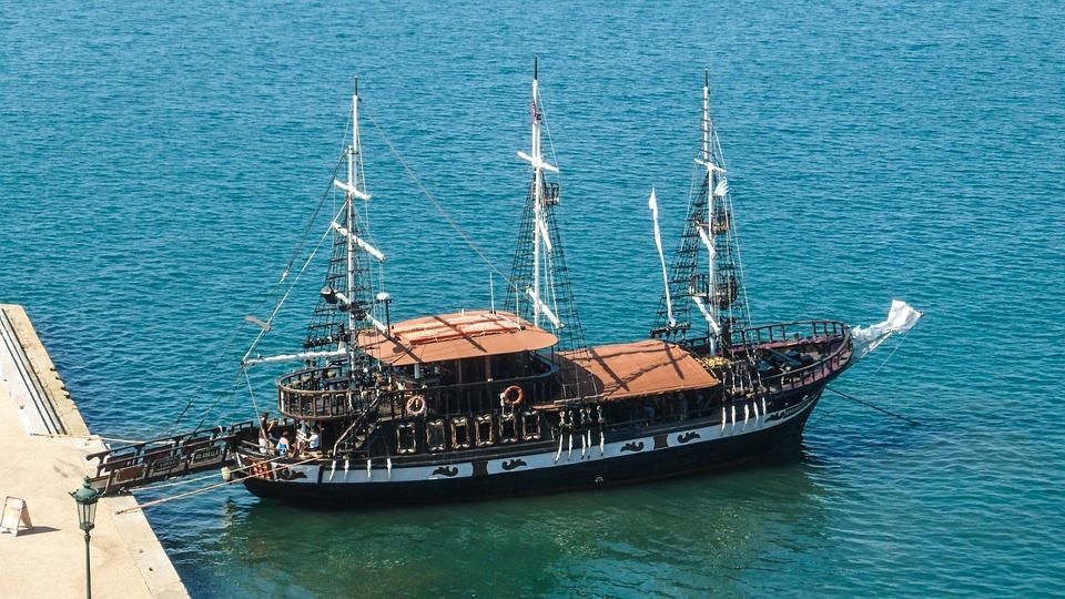 Greece, Thessaloniki, Sailing Vessel, Cruises, Tourism