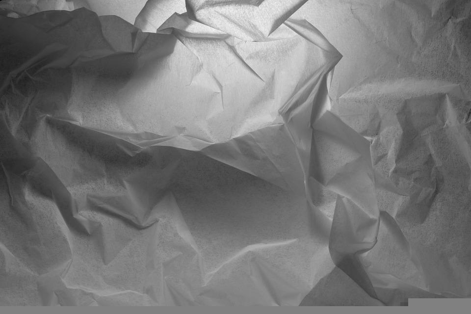 Paper, Crumpled, Texture, Shadows, Fold, Crumpled Paper