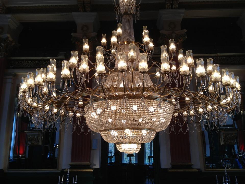Chandelier, Light, Lighting, Crystal Chandelier