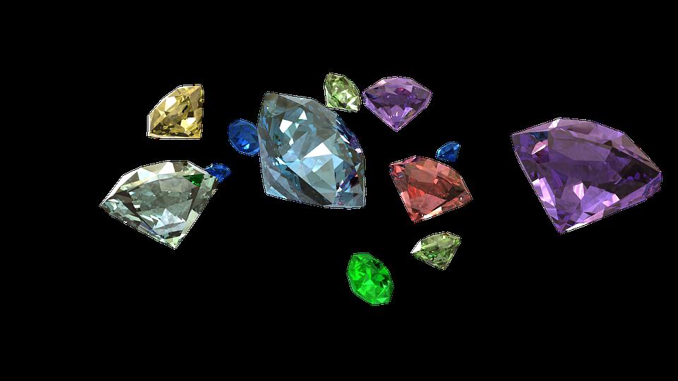 Diamonds, 3d Render, Jewelry, Luxury, 3d, Crystal