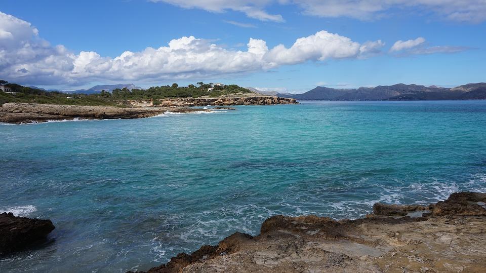 Alcúdia, Mallorca, Holiday, Sea, Bay, Crystal Water