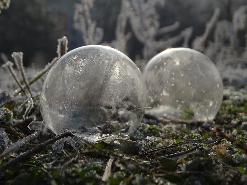 Bubble, Frost, Winter, Frozen, Crystalline, Ice