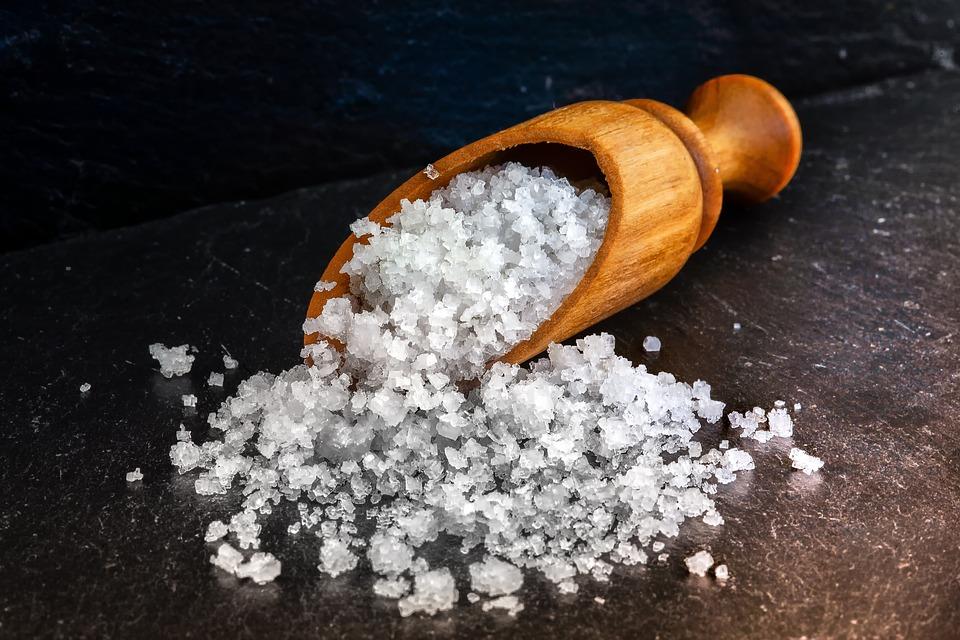 Nature, Food, Salt, Sea Salt, Moist, Crystals, Crumb