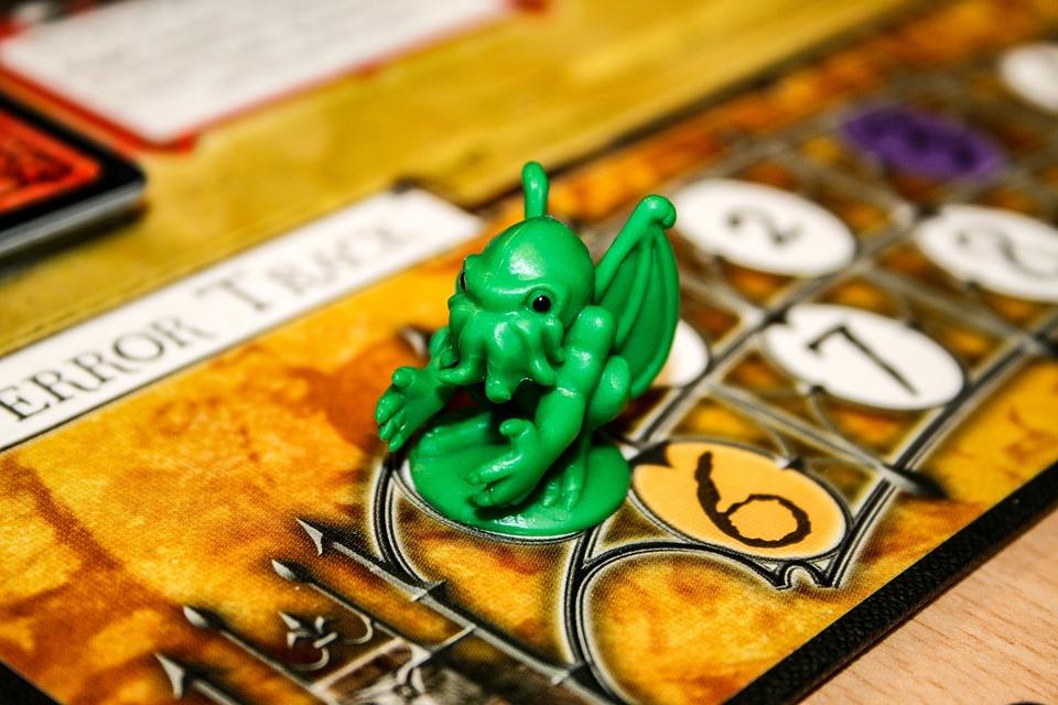 Cthulhu, Board Game, Arkham, Horror, Figure, Creepy
