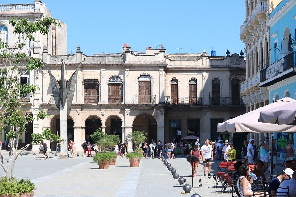 Architecture, Street, City, Tourism, Travel, Cuba