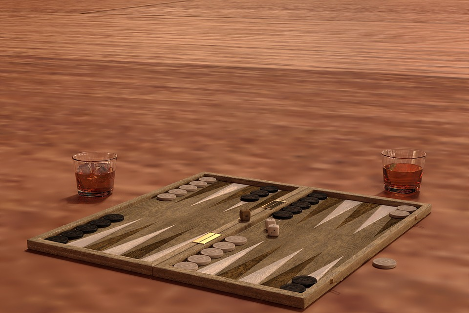 Backgammon, Play, Board, Cube, Win, Pay, Risk, Luck