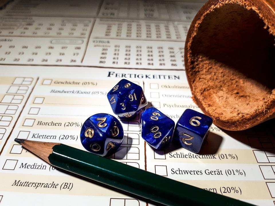 Role Playing Game, Rpg, Cube, Play, Shaker