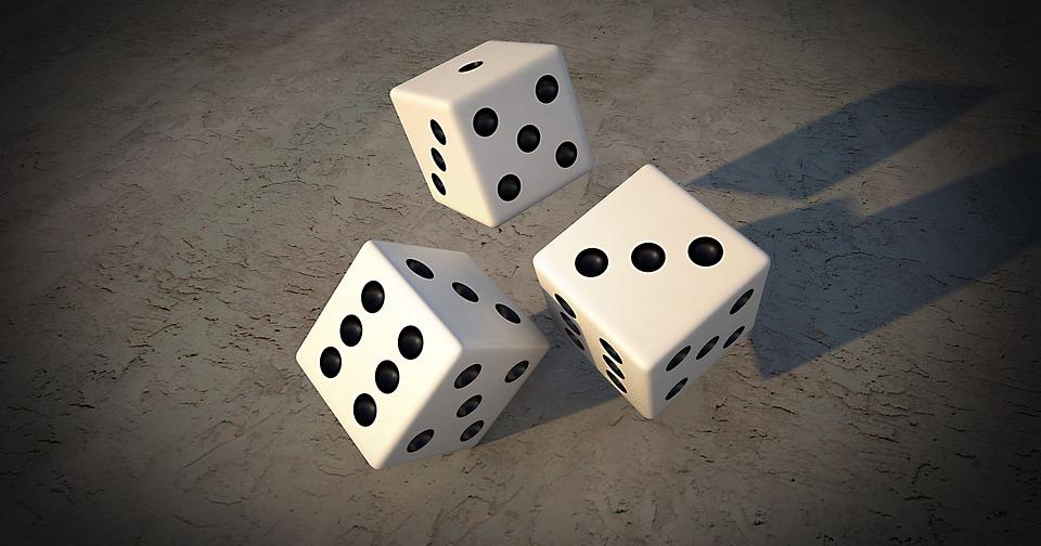 Gambling, Cube, Play, Random, Luck, Points, Pay, Eyes