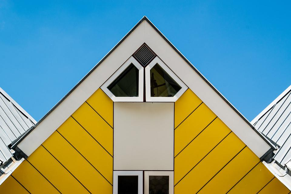 Cubic House, Architecture, House, Building, Rotterdam