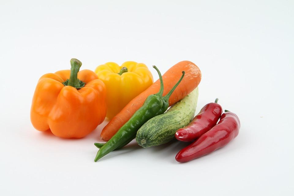Carrots, Onion, Cucumber, Vegetables, Vegetable