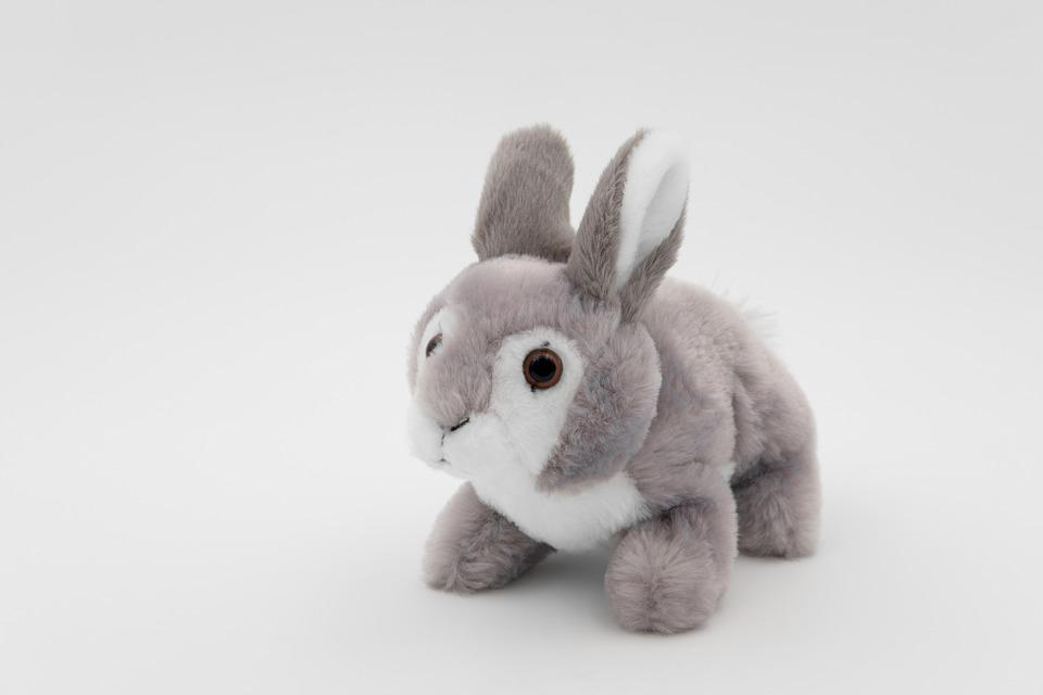 free photo cuddly bunny hare teddy bear plush bunny max pixel