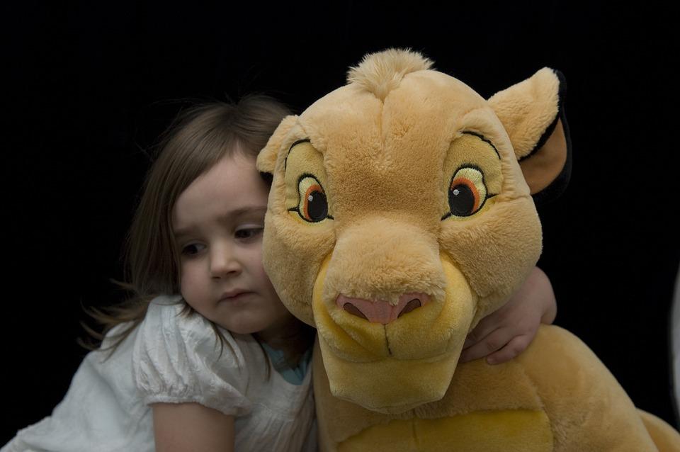 Simba, Lion King, Plush, Toy, Cuddly, Child