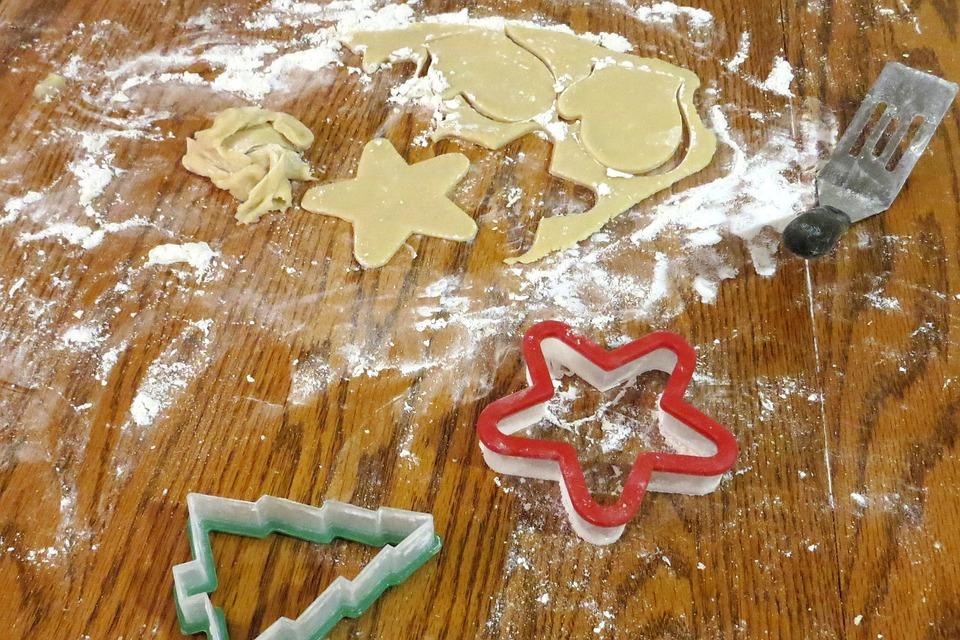 Christmas Cookies, Cooking, Culinary, Christmas, Food