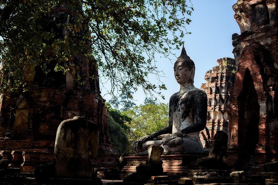 Thailad, Asia, Buddha, Mandalay, Golden, Culture