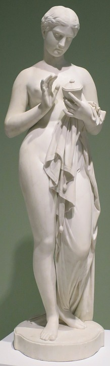 Sculpture, Pandora, Chauncey, Bradley, Museum, Culture