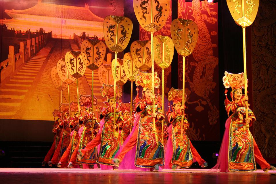 China, Acrobatics, Dance, Chinese, Culture, Asian