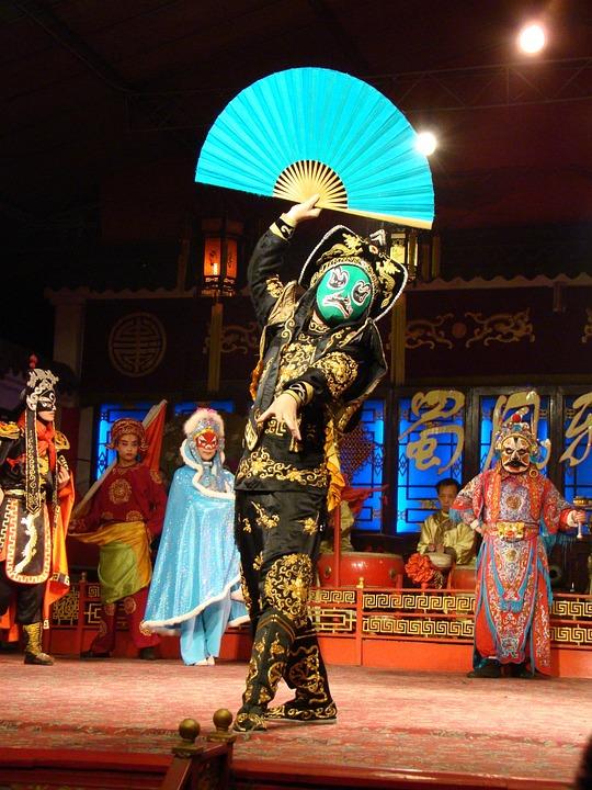 Chinese Opera, Chengdu, Sichuan, Culture, Performance