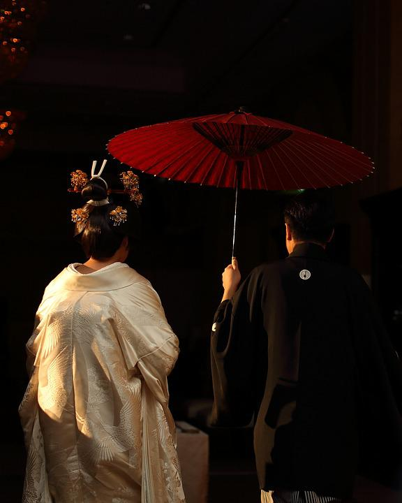 Adult, Back View, Ceremony, Couple, Culture, Festival