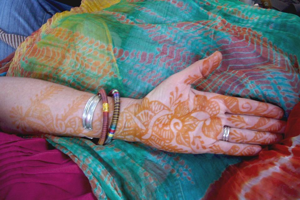 Henna, Decoration, Culture, Design, Indian, Floral