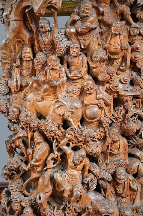 China, Culture, Divinity, Religious Sculpture, Religion