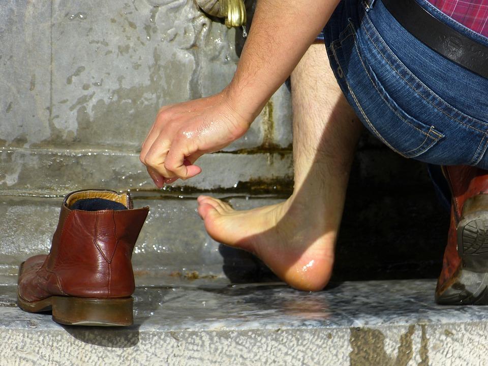 Foot, Wash, Ritual, Culture, Washing Feet, Wet, Water
