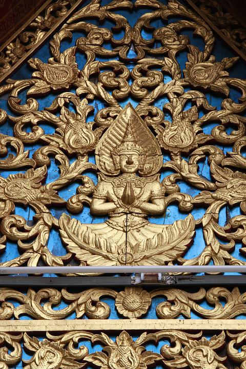 Chiang May, Thailand, Culture, Nature, Gold, Old