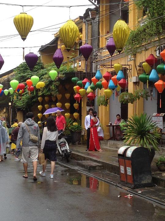 Vietnam, Lanterns, Traditional, Culture, Asia