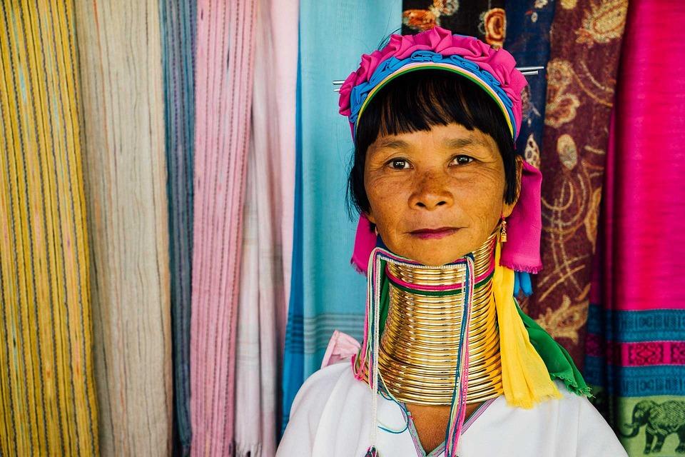 Thailand, Longneck, Woman, Travel, Culture, Tribal
