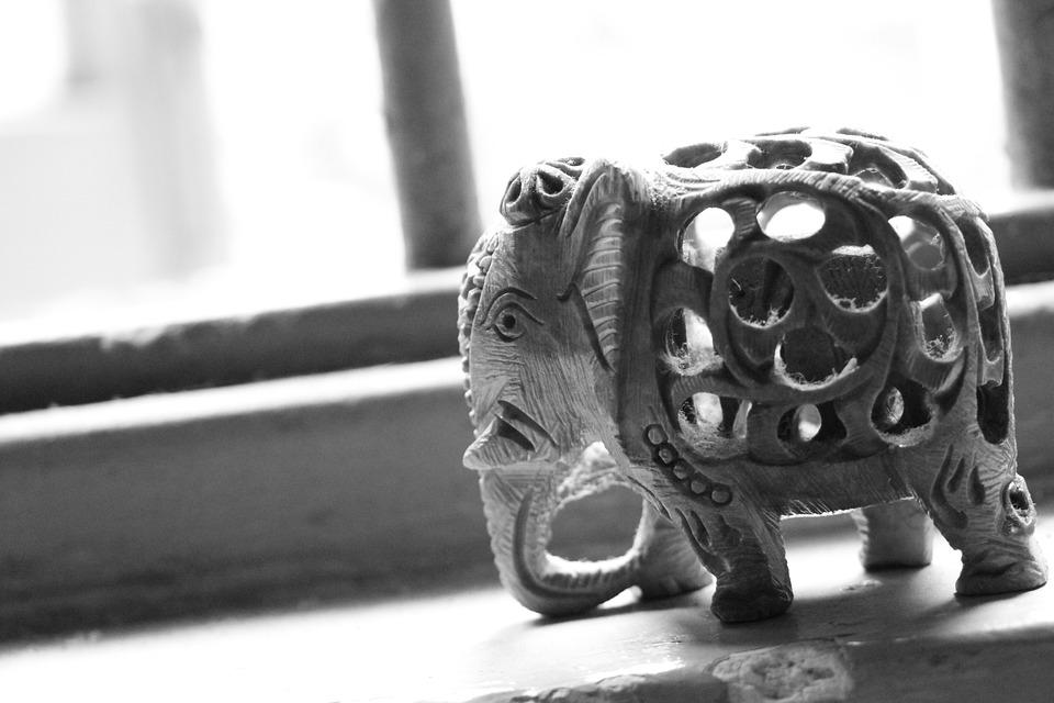 Elephant, Statue, Decoration, Culture, Religion, Asia