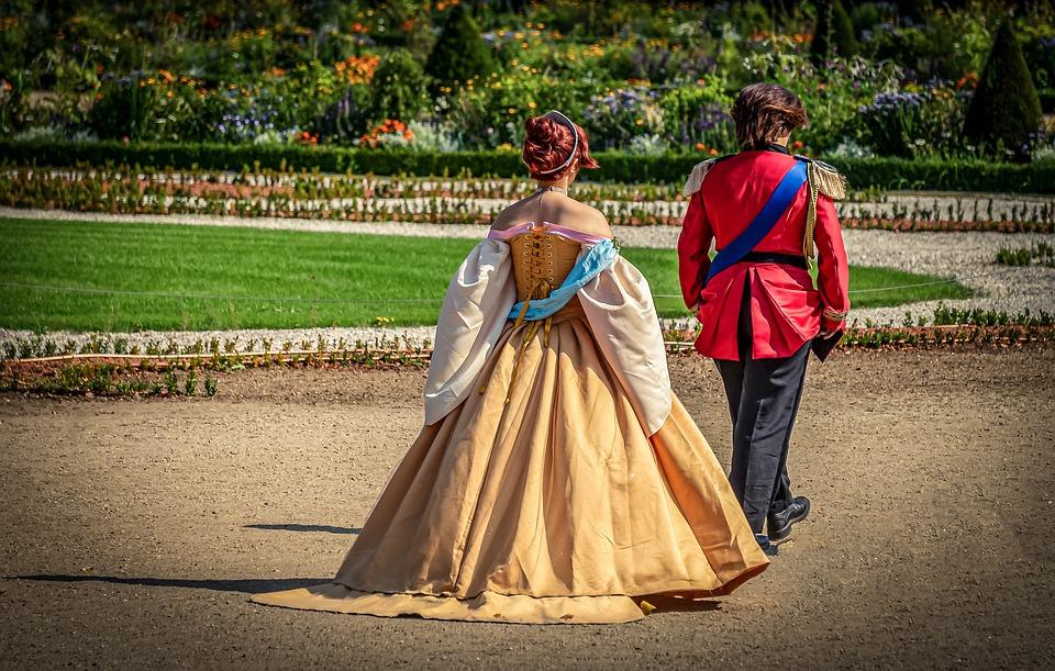 Schlossgarten, Prince, Princess, Human, Culture, Woman