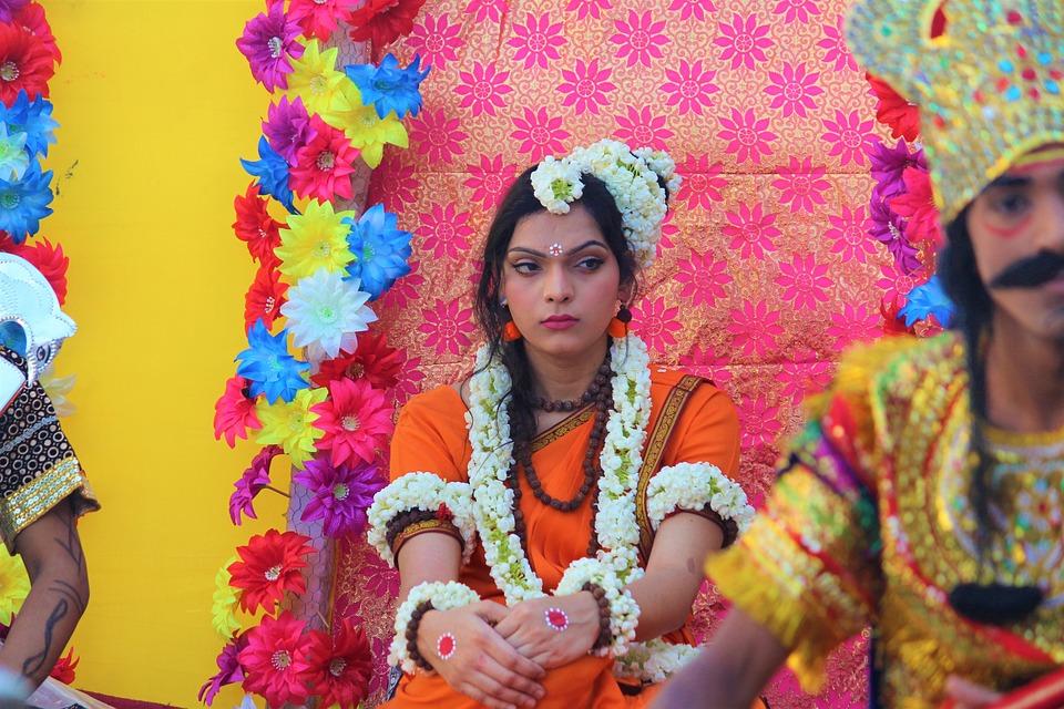 Sita, Dusshera, Ramayana, India, Culture, Diwali