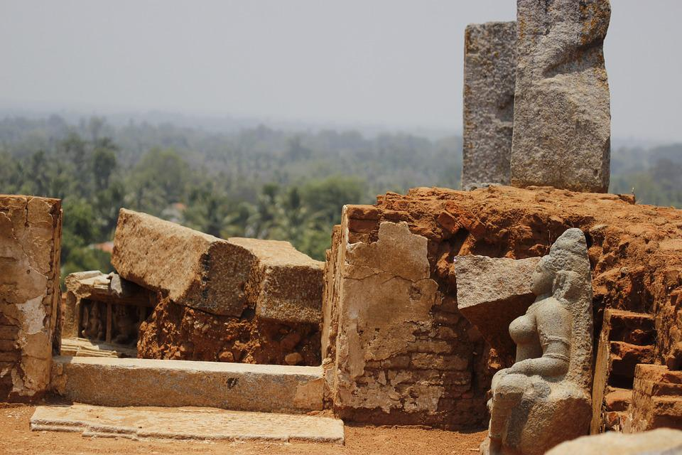 Temple, Ruins, Ancient, Culture, Heritage, Jainism, Old