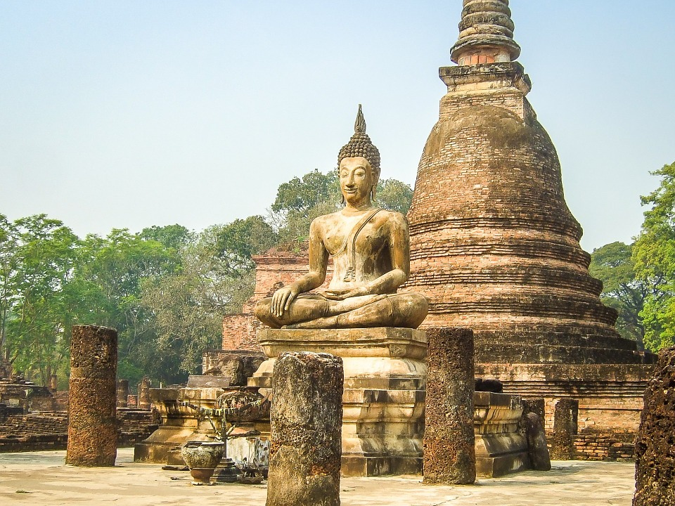 Thailand, Buddha, Buddhism, Temple, Asia, Culture