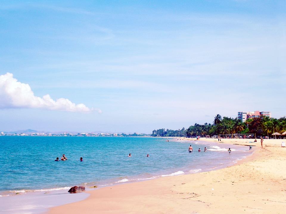 Cumaná, Cumana, Sucre, Venezuela, City, Beach, Costa