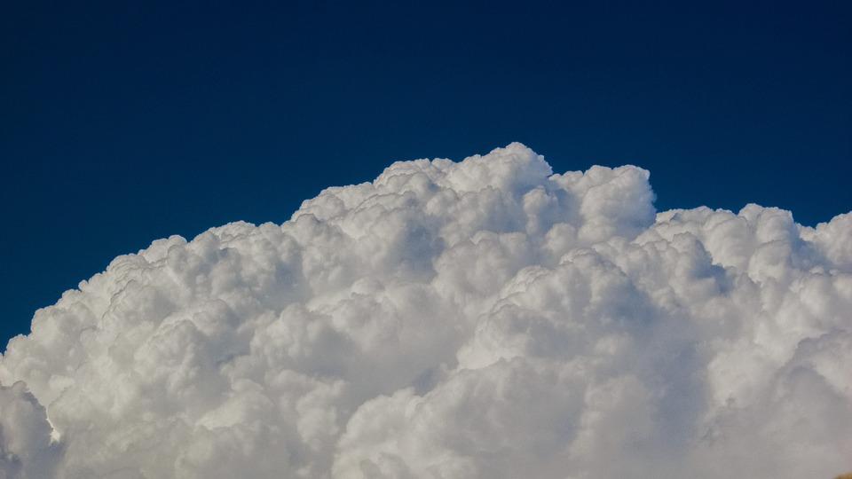 Clouds, Cumulus, Sky, Blue, White, Blue Sky Clouds