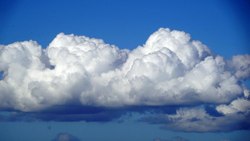 free photo cumulus blue white sky clouds form clouds cloud max pixel