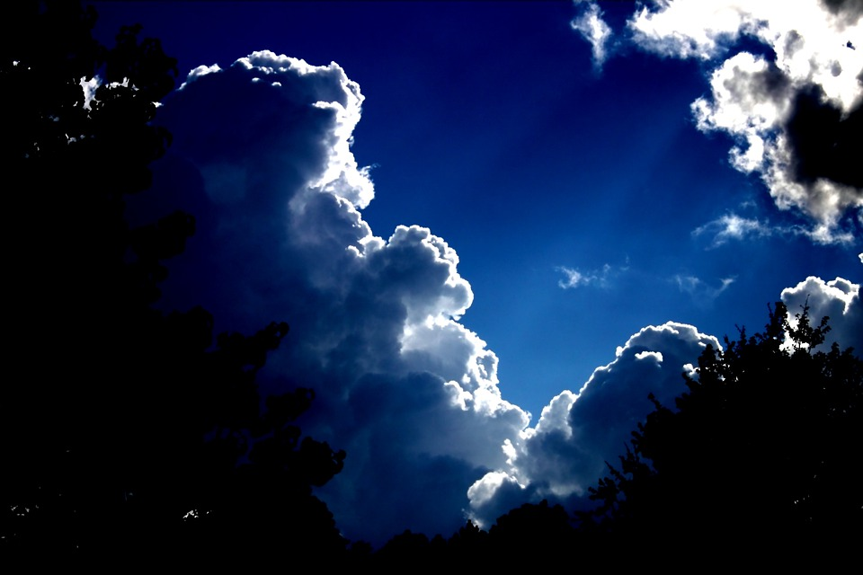 Clouds, Sky, Blue, Weather, Climate, Rain, Cumulus