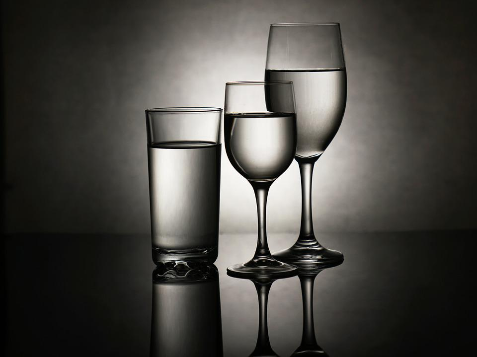 Glass, Cup, A Glass Of, Wine Glasses, Water