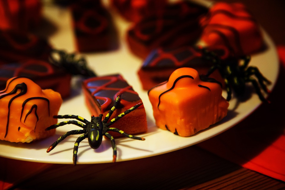 Baked, Black, Cake, Candy, Cup, Decorated, Decoration